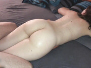First time anal with female partner he tries to penetrate her slowly
